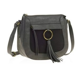 Handbags - No Boundaries New Ring Tassel Crossbody Handbag